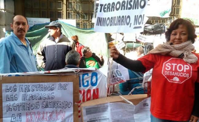 В 2012 году испанский суд одобрил более 100 тысяч выселений