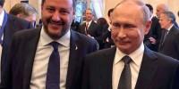 Глава МВД Италии похвастался фотографией с Путиным