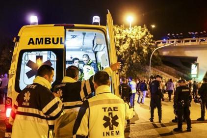Португалия: кто поджег женщину