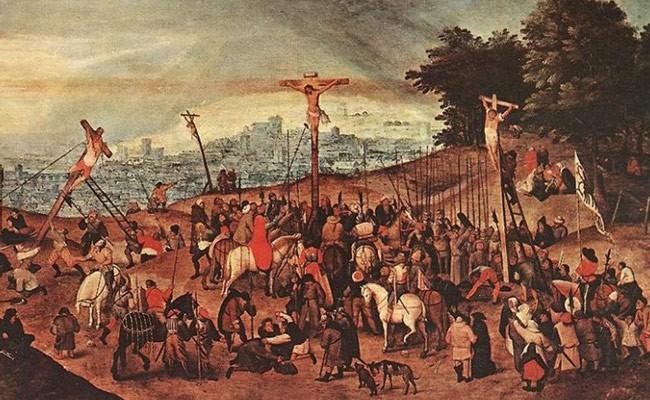 Картину «Распятие» похитили из итальянской церкви