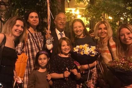 Президент Португалии прибыл в Москву