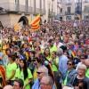 Тысячи людей по всей Испании вновь вышли на улицы