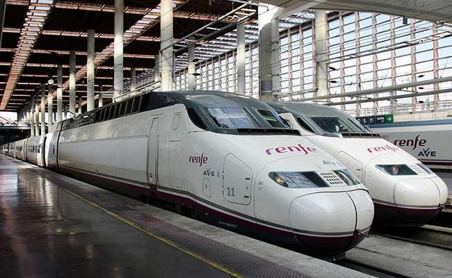 Забастовка испанских поездов