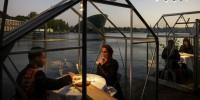 Ресторан в теплицах сделали в Нидерландах