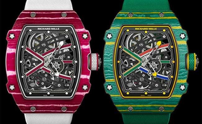 Richard Mille посвятила часы олимпийским легкоатлетам