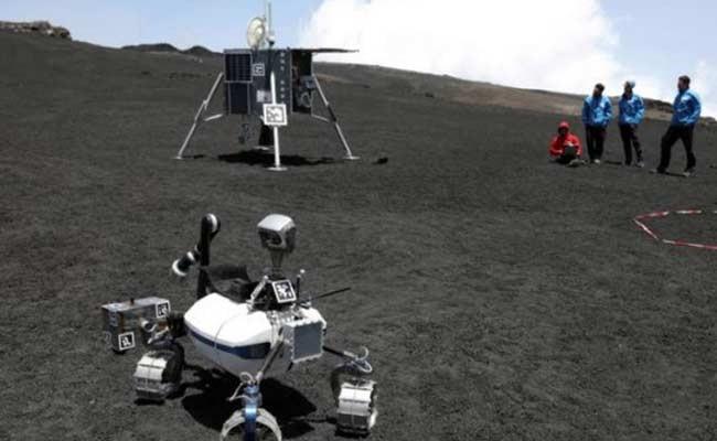 В Италии тестируют роботов для лунных и марсианских экспедиций