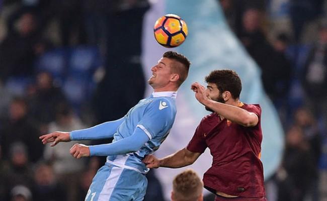 Италия: «Рома» сыграла вничью с «Лацио» в римском дерби