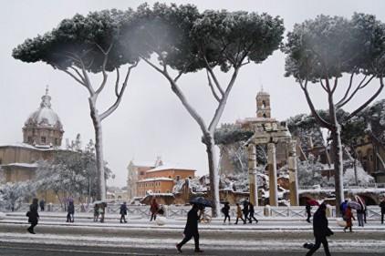 Италия: в Риме из-за заморозков погибли десять бездомных