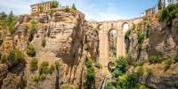 Испания: в Ронде обвалились стены средневековых арабских бань