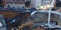 Италия: в Риме провалилась проезжая часть улицы
