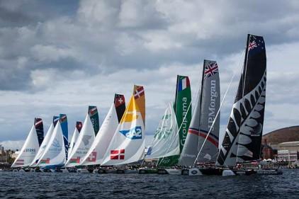 Португалия: парусные гонки Extreme Sailing Series