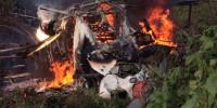 На севере Италии разбился небольшой самолет