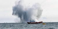 Италия: военный самолет рухнул в море во время авиашоу