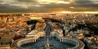 Италия: бездомных «выселили» с площади Святого Петра