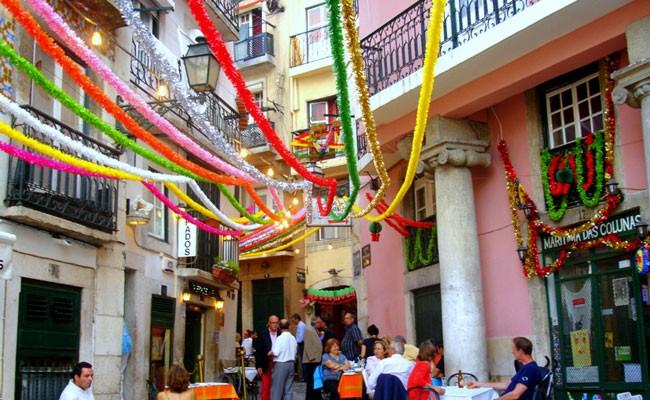 Португалия: Лиссабонские празднества