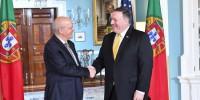 Помпео встретился с главой МИД Португалии