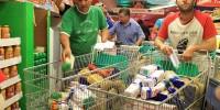 Испанские профсоюзы совершили набег на гипермаркеты