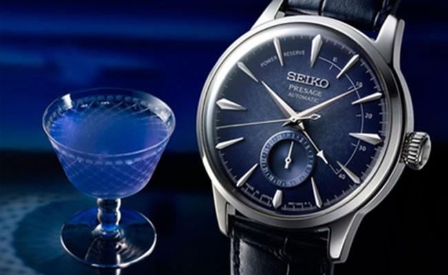 Синий коктейль вдохновил дизайнеров Seiko