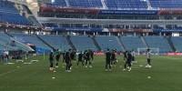Сборная Португалии в полном составе приняла участие в тренировке