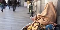 Испания: ночь на улице в поддержку бездомных