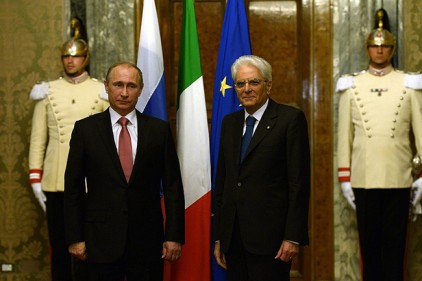 Встреча Путина с президентом Италии запланирована на 11 апреля