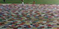 В Индии связали 14-километровый шарф