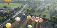 Италия: фестиваль воздушных шаров в Пестуме