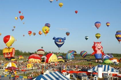 Италия: Международный Фестиваль воздушных шаров 2016