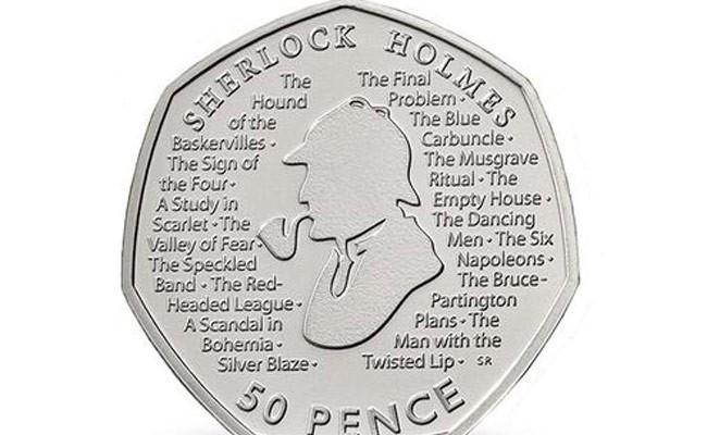 Монету с Шерлоком Холмсом выпустили в Британии
