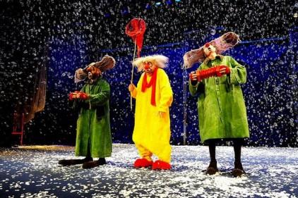 Знаменитое шоу Вячеслава Полунина - снова в Испании