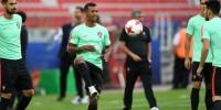 Сборная Португалии тренируется в полном составе в Сочи