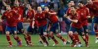 Сборная Испании по футболу стала первым финалистом чемпионата Европы