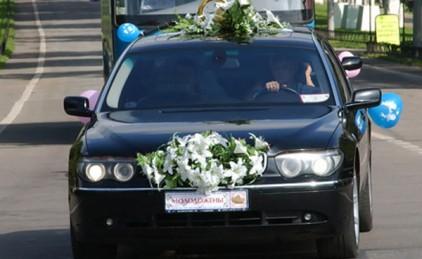 В Москве свадебный кортеж задержан за стрельбу в воздух