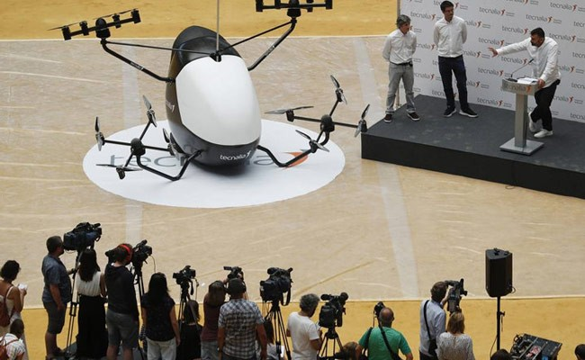 В Испании представили прототип аэротакси с автопилотом