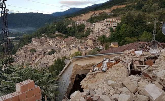 Землетрясение вИталии спровоцировало сдвиг земной коры на70см