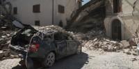 В Италии произошло еще одно землетрясение