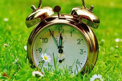 В выходные не забудьте перевести часы!