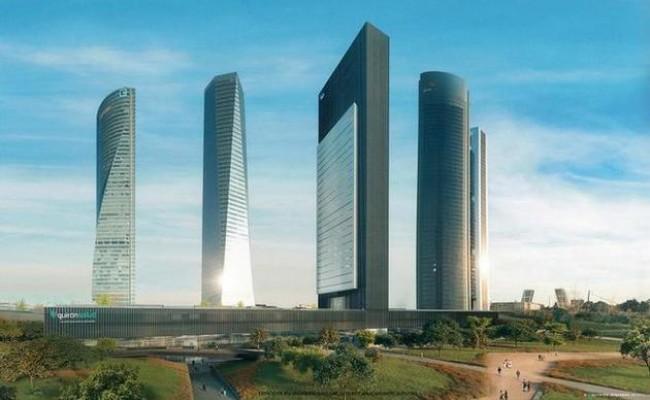 В «Пятой башне» Мадрида будет 46 лифтов