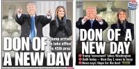 Две газеты вышли с одинаковыми фото и заголовками о Трампе
