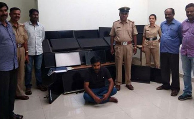 Индиец вынес из отелей 120 телевизоров
