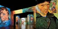 Испания: выставка Van Gogh Alive в Мадриде