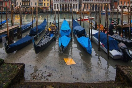 Италия: Венеция осталась без воды