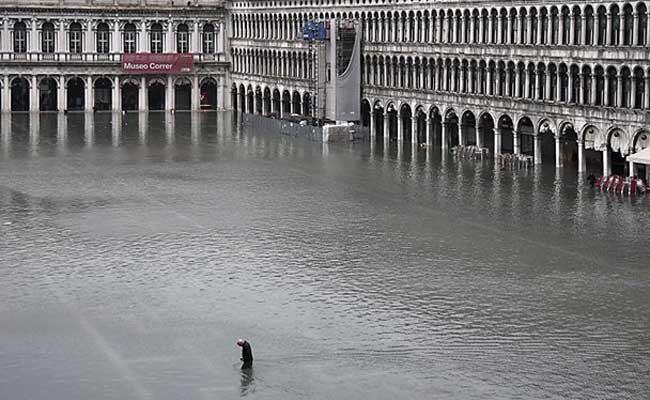 Италия: потоп в Венеции стал самым сильным за 150 лет
