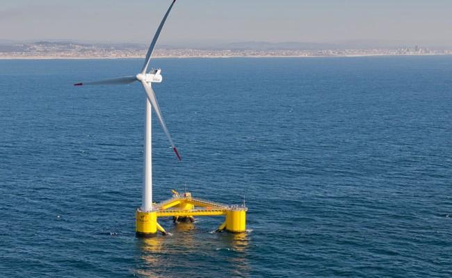 На Канарах запустят первый в Испании морской ветрогенератор