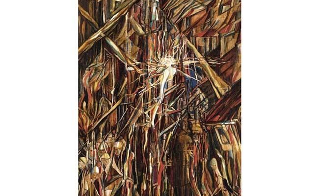 Продана картина португальской художницы Виейры да Силвы