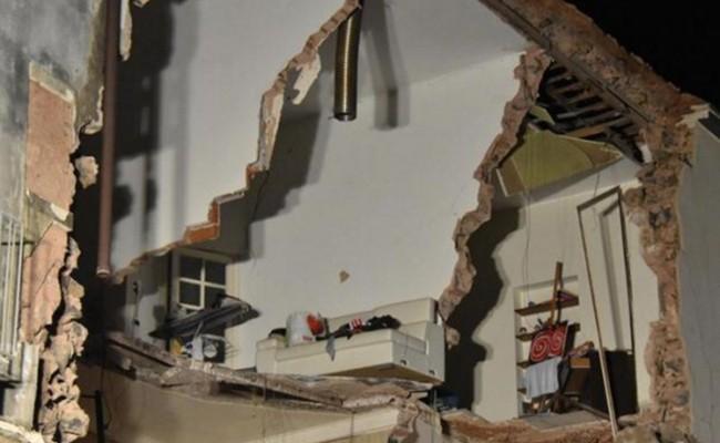 НаСицилии в итоге взрыва обвалился дом