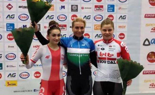 Велогонщица Забелинская удостоена золота в Италии