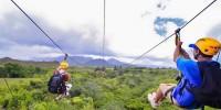 Испания: в Андалусии открылся самый длинный в Европе зиплайн