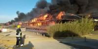 Португалия: сгорел люксовый резорт